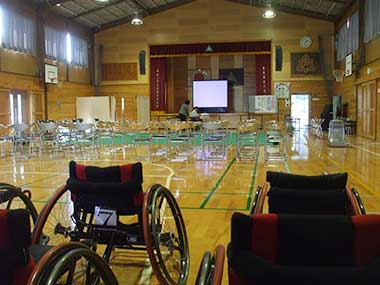 菊池市立戸崎小学校 講演会及び車いす体験報告の画像