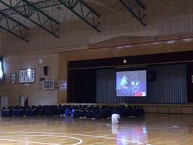 大津高校(体育コース)車いすバスケットボール体験の画像