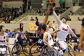 熊本県中学校体育研究会 保健体育指導法講習会講演 兼 車いすバスケットボール体験会の画像