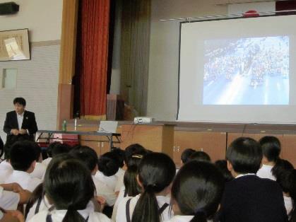 熊本市立北部東小学校講演会報告