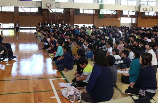 球磨村での「くまもと教育の日inくまむら」講演会報告の画像