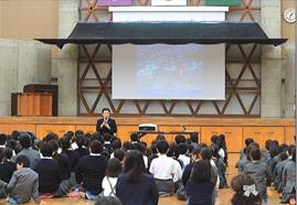 宇土市立東小学校講演会の画像